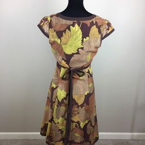Anthropologie Dresses - Maeve Anthropologie cap sleeve dress size 10